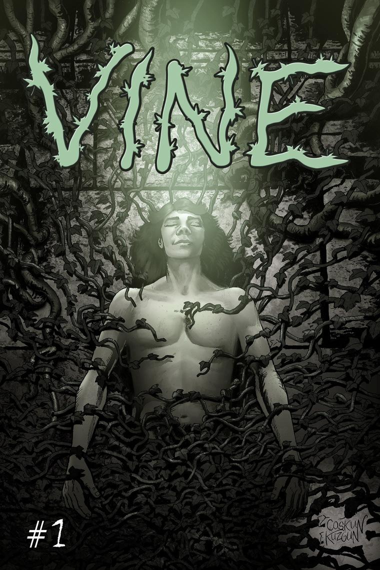 VINE #1, Cover