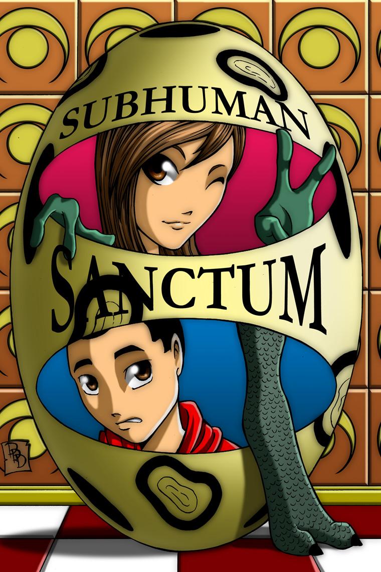 Subhuman Sanctum, Cover