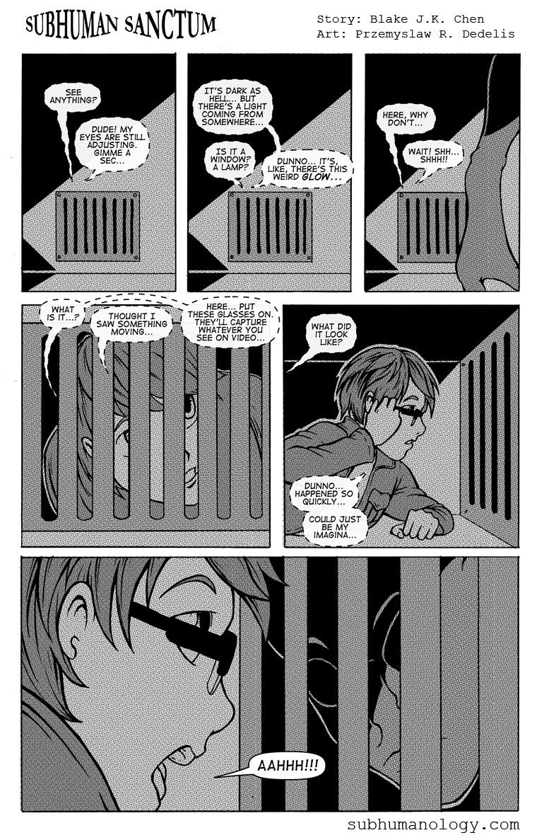 Subhuman Sanctum, Pg 20