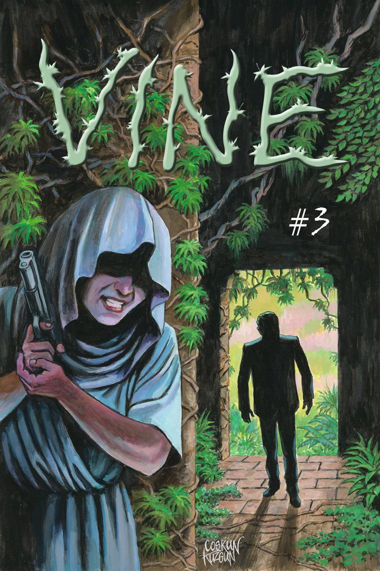 VINE #3, Cover