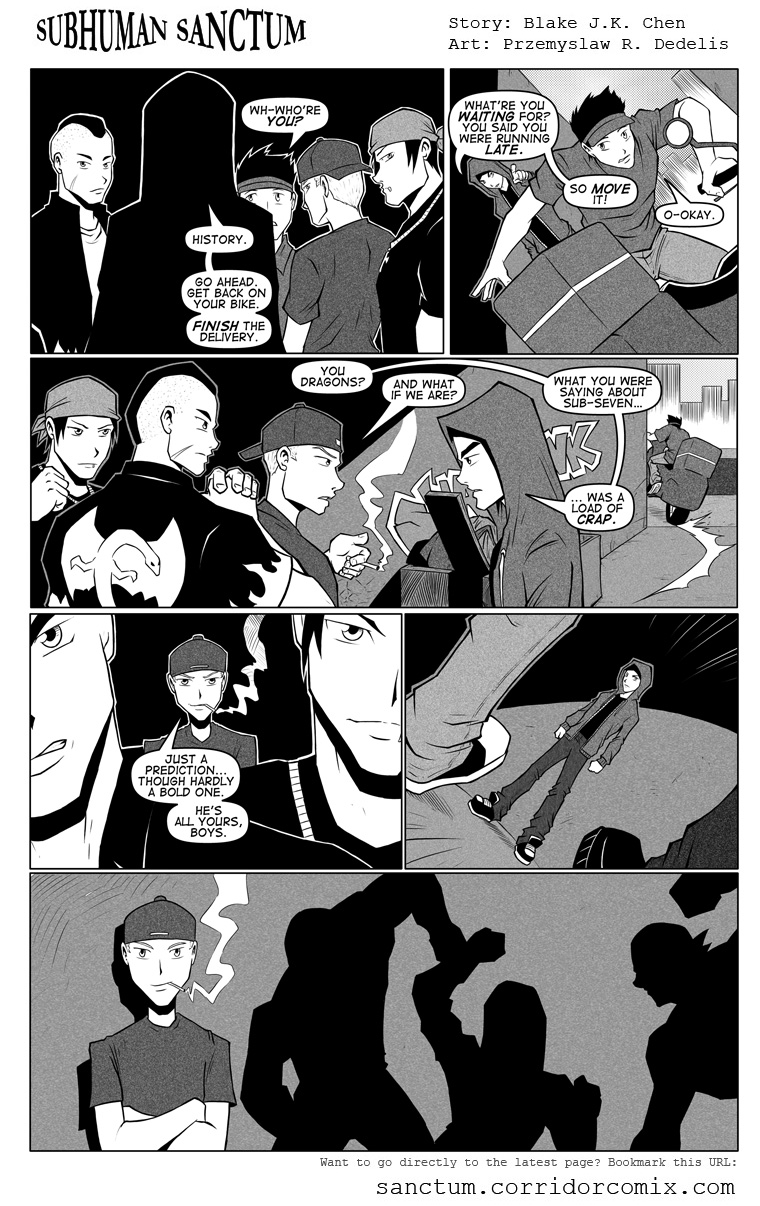 Subhuman Sanctum, Pg 74