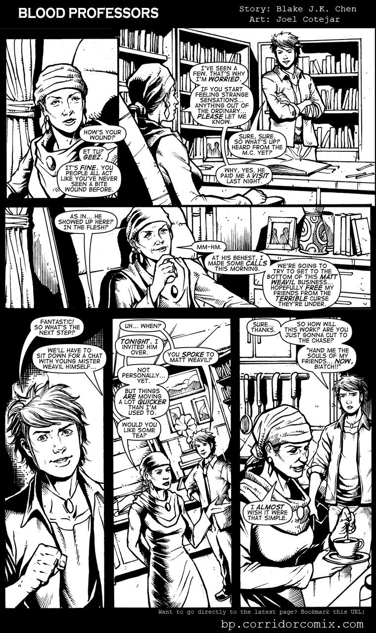 Blood Professors #2, Pg 14