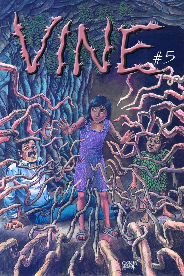 VINE #5, Cover