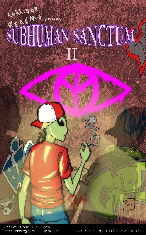 Subhuman Sanctum II, Cover