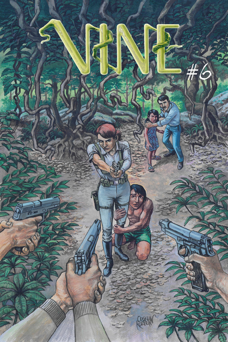 VINE #6, Cover