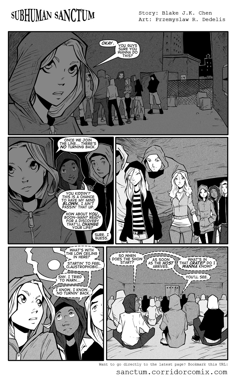 Subhuman Sanctum II, Pg 70